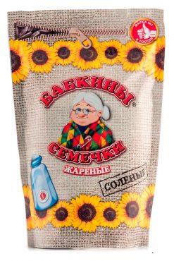 Жареные соленые Бабкины семечки