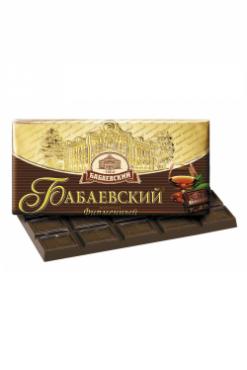 Шоколад Бабаевский фирменный