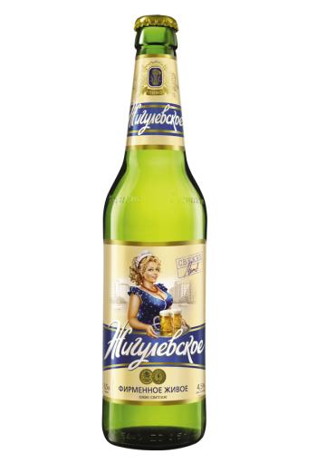 Пиво Жигули Фирменное, 0,5л. с доставкой по Словении