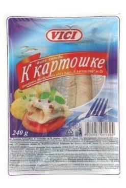 Филе сельди в масле VICI, к картошке
