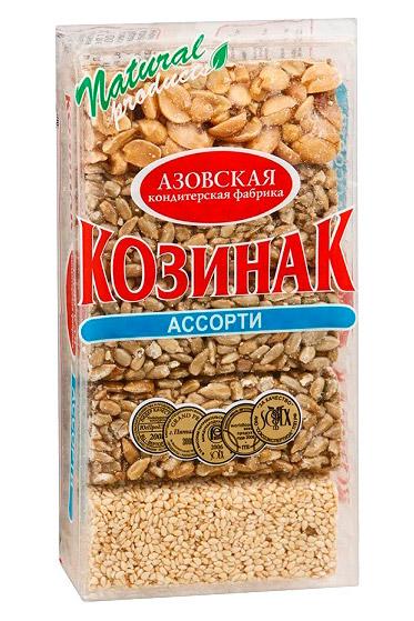 Козинак ассорти, 280г., Россия с доставкой по Словении