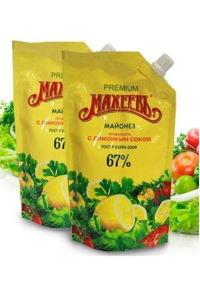 Majoneza Maheev z limonim sokom, 380g., Rusija z dostavo v Sloveniji