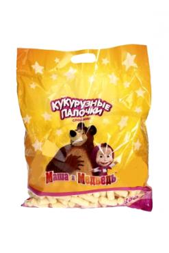 Кукурузные сладкие палочки Маша и Медведь