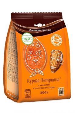 Курага Петровна с миндалем в шоколаде