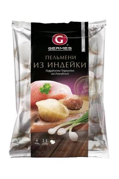 Pelmeni s puranjim mesom TM Germes, 450g. Nemčija z dostavo v Sloveniji