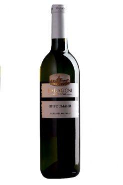 Вино Пиросмани, белое полусухое