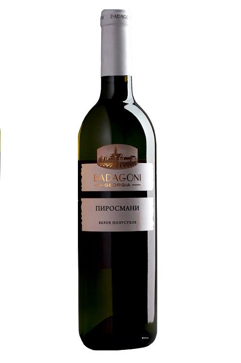 Belo polsuho vino Pirosmani, 0,75l. Gruzija z dostavo v Sloveniji
