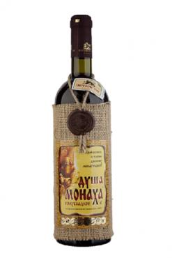 Красное полусладкое вино Душа монаха