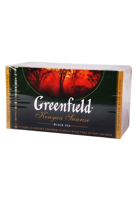 Čaj Greenfield Kenyan Sunrise v vrečkah 25/2g. z dostavo v Sloveniji