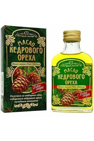Кедровое масло 100 мл, холодный отжим, Россия с доставкой по Словении