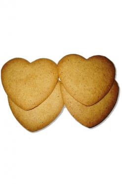 Печенье с корицей Сладкие сердца