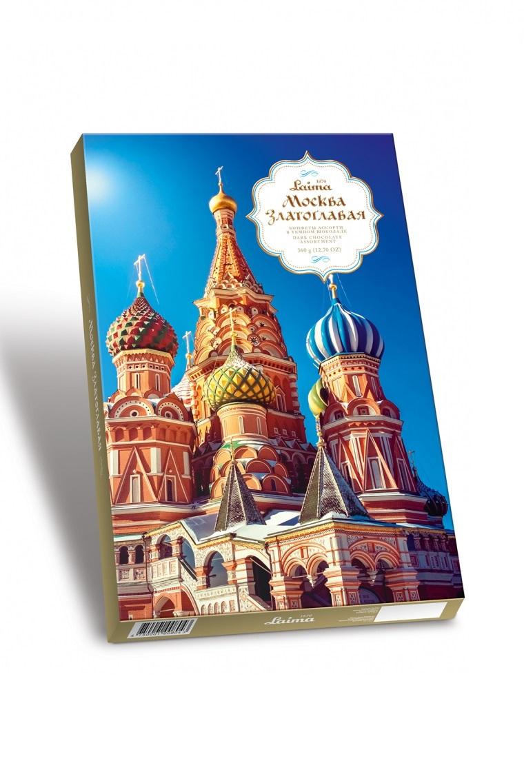 Bonboniera Moskva Zlatoglavaja, 360g. Latvija z dostavo v Sloveniji