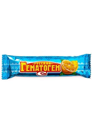 Батончик Гематоген Русский с витамином С, 40г., Россия с доставкой по Словении