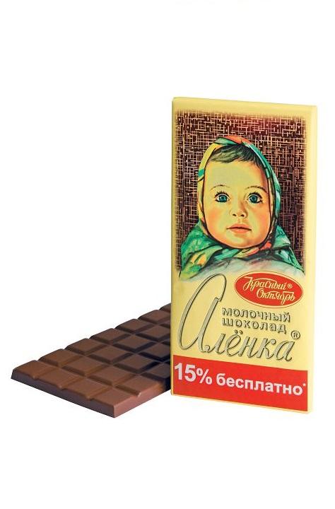 Молочный шоколад Аленка, 200г.
