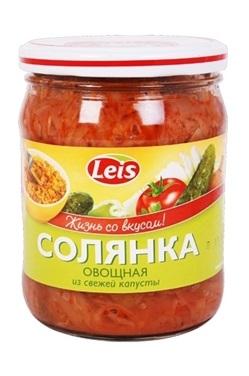 Суп Солянка со свежей капустой, 480г. с доставкой по Словении