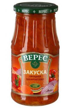 Закуска Закарпатская, Верес