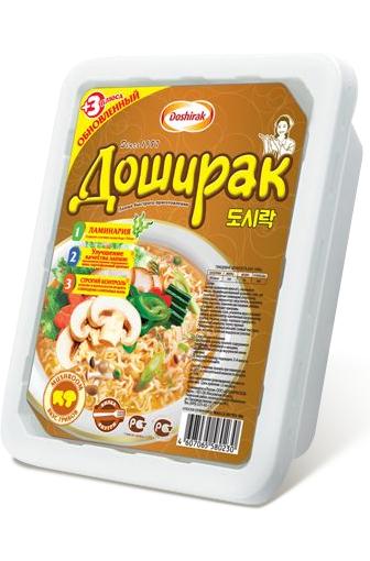 Лапша Доширак, вкус грибов
