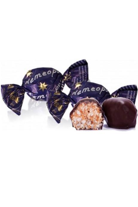 Čokoladni bonboni z oreščki Meteorit, na vago, Ukrajina z dostavo v Sloveniji