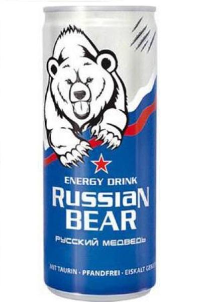 Энергетический напиток Русский медведь с витаминами, 250мл. с доставкой по Словении