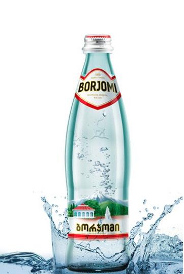 Боржоми минеральная вода в стекле, 500мл., Грузия с доставкой по Словении