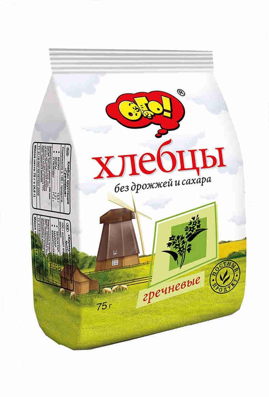 Хлебцы гречневые, 75г. Россия с доставкой по Словении