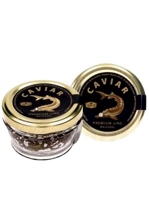 Črni kaviar jesetra, 50g., TM Ikroff, Premium z dostavo v Sloveniji