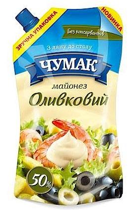 Майонез Чумак оливковый