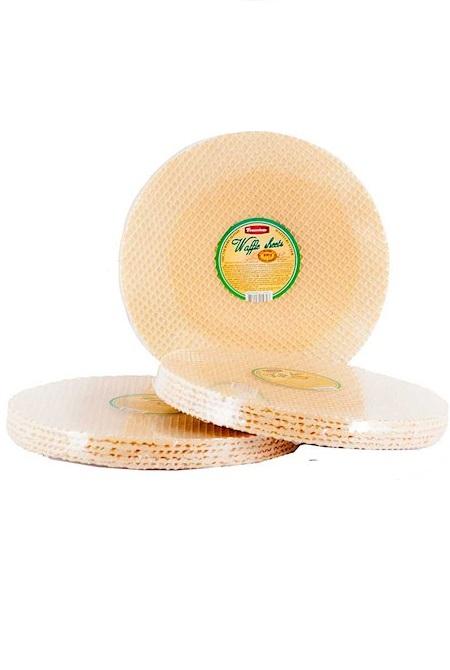 Вафельные листы для торта круглые, 100г. Молдова с доставкой по Словении