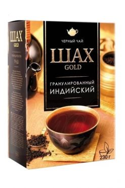 Гранулированный черный чай Шах Голд