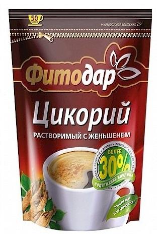 Instant napitek iz cikorije in ginsinga, TM Fitodar, 100g. Rusija z dostavo v Sloveniji