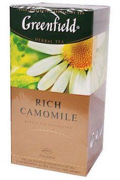 Чай Гринфилд, травяной с ромашкой