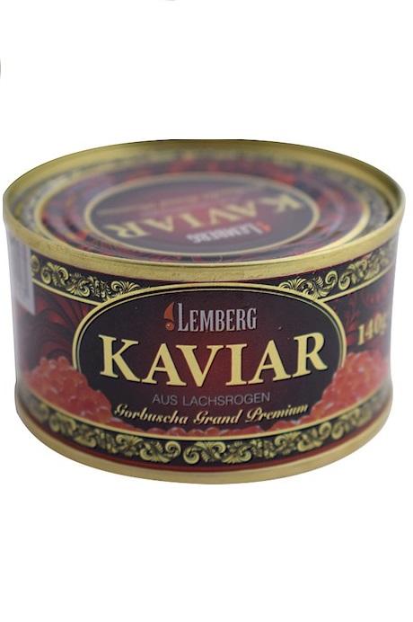 Kaviar lososa (gorbuša) Grand Premium, 140, TM Lemberg, Nemčija z dostavo v Sloveniji