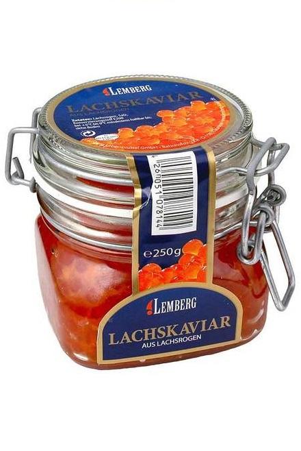 Kaviar kete, 250g, steklo, Lemberg z dostavo v Sloveniji