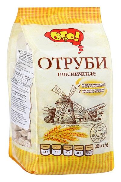 Отруби ОГО! Пшеничные