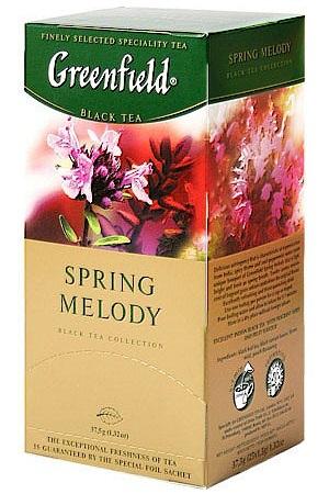 Чай Гринфилд, черный Spring Melody, 25/2г. с доставкой по Словении