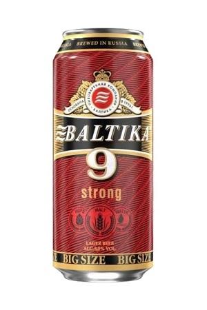 Пиво Балтика №9, крепкое