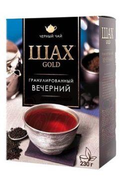 Гранулированный черный чай Шах Голд с бергамотом, 230г.