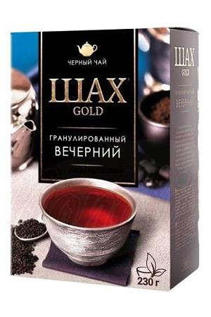 Гранулированный черный чай Шах Голд с бергамотом, 230г. с доставкой по Словении