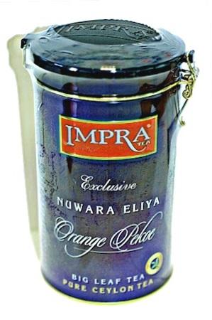 Čaj črni IMPRA, Nuwara Eliya, 250g. Ceylon z dostavo v Sloveniji