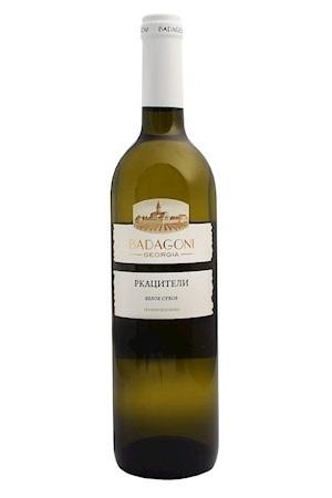 Белое сухое грузинское вино Ркацители, 0,75л., Badagoni с доставкой по Словении