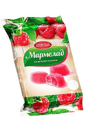 Žele z okusom maline, 300g. Rusija z dostavo v Sloveniji