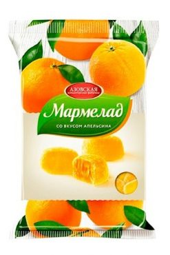 Мармелад со вкусом апельсина