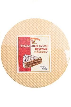 Вафельные листы для торта круглые, 100г. Молдавия с доставкой по Словении