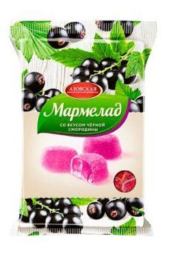 Мармелад со вкусом черной смородины