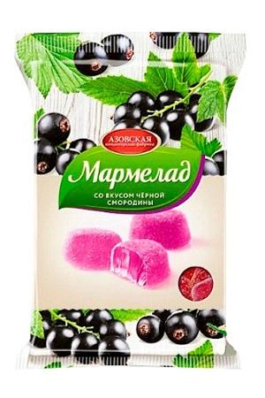 Мармелад со вкусом черной смородины, 300г. Россия с доставкой по Словении