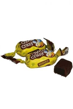 Конфеты желейные в шоколаде Choco Crazy
