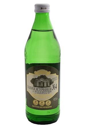 Naravna Mineralna Voda Essentuki №4, 500ml., Rusija z dostavo v Sloveniji