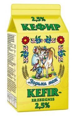 Кефир 2,5% жирности