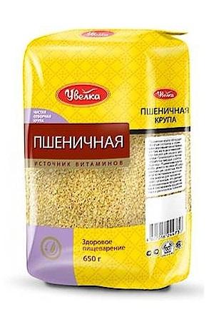 Крупа пшеничная, 650г. ТМ Увелка