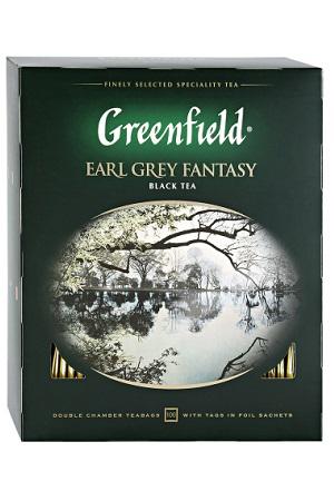 Чай Гринфилд, Earl Grey Fantasy, 100/2г. с доставкой по Словении